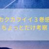 【トニカクカワイイ3巻感想とちょっとだけ考察】今回は新婚旅行!