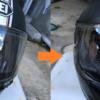 【ヘルメットに撥水スプレーをしてみた!】水をどれ位弾くのか検証!